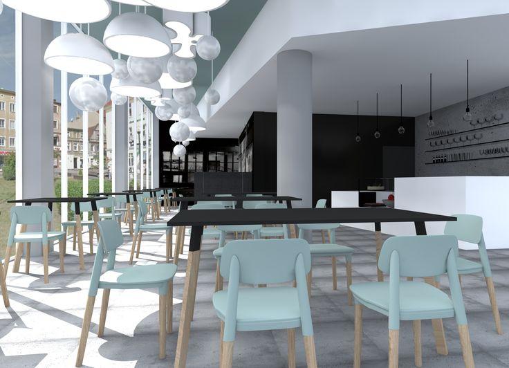 Projekt kawiarni w Planetarium Wenus w Zielonej Górze