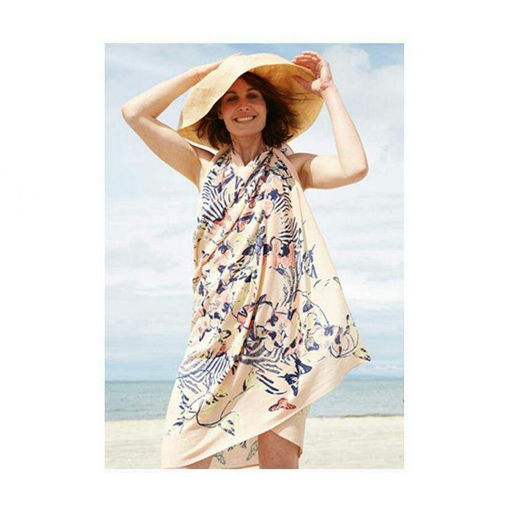 Wat een mooie dag! De mooie #Bellaballou sjaals zijn ook heerlijke sarongs. Let op! Nog de hele week 20% #zomerkorting bij #grinandbeam #sjaal #sarong #zomer #sale #webwinkel #webshop #shoppen