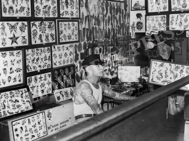 Vintage Cap Coleman Shop Interior Poster Print