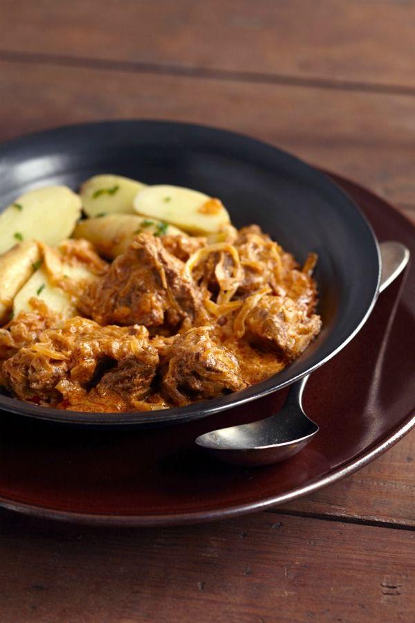 Hungarian Goulash with Sauerkraut — Three Many Cooks