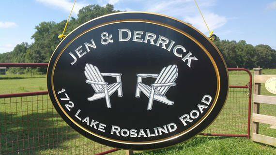 Custom Cottage Signs-Outdoors-Double Sided-Hanging-PVC Board