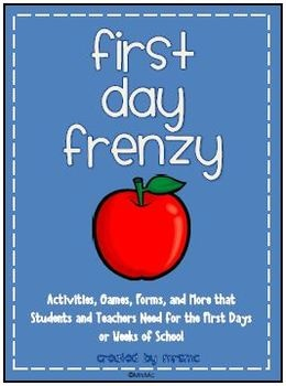 20 First Day of School Activities and Resources for Students and Teachers!