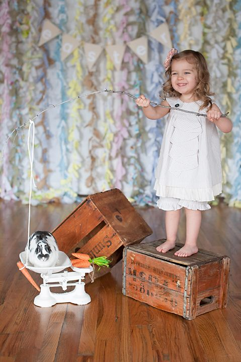 easter styled mini session
