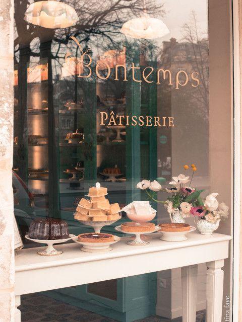 PARIS: bontemps PÂTISSERIE rue de bretagne