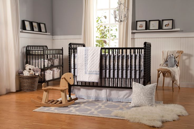 Jenny Lind 3-in-1 Convertible Crib | DaVinci Baby