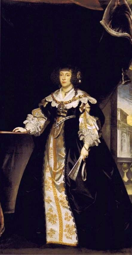 ca. 1640 Cecilia Renata by Frans Luyckx (Kunsthistorisches Museum - Wien Austria) | Grand Ladies | gogm