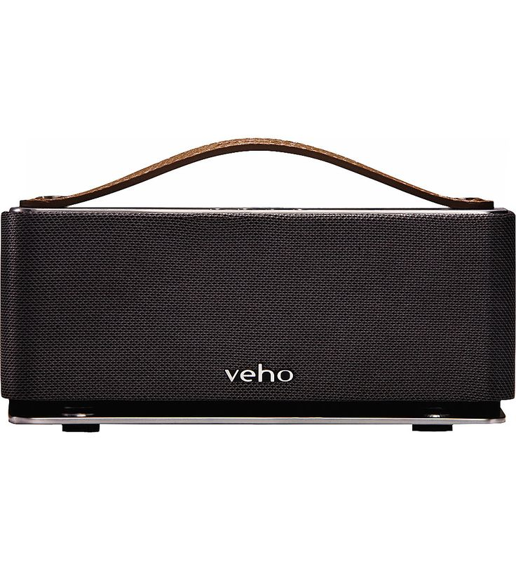 battery veho m6 360в° mode retro bluetooth speaker 3