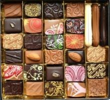 Little works of art - Iain Burnett chocolates.
