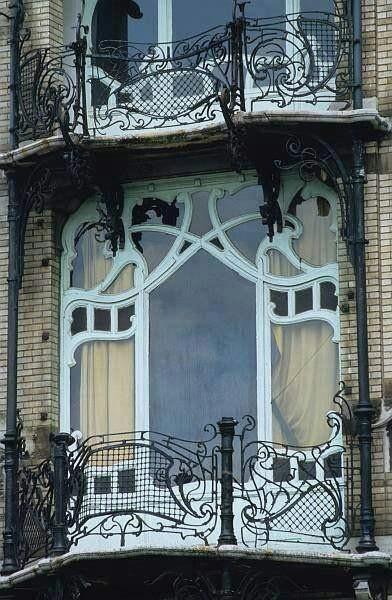 Balcón Art Nouveau