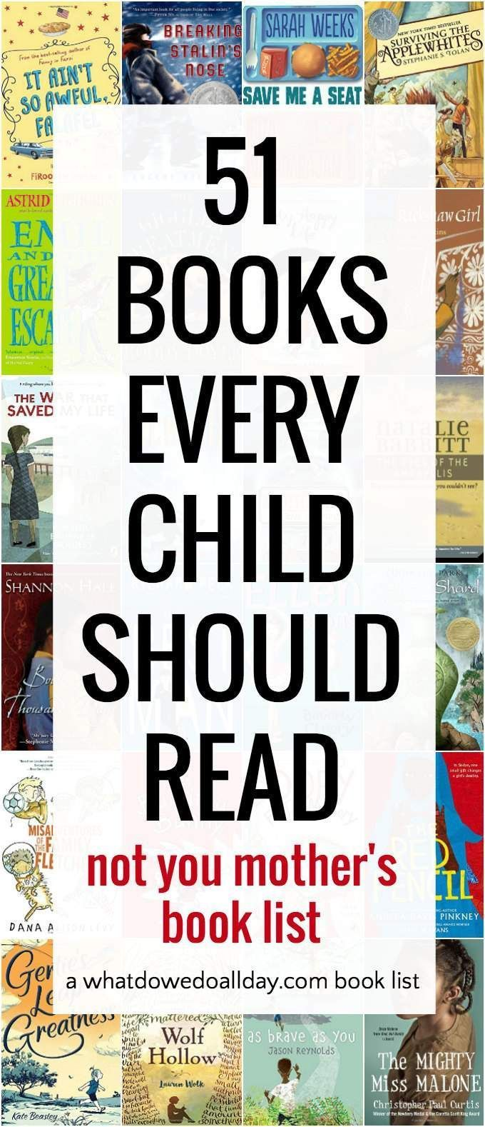 51 Must Read Chapter Books For Kids (not Your Typical Book List)