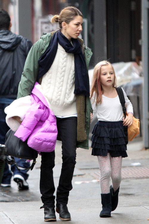 Sofia Coppola & Her Schoolgirl Sweetie | Families | Sofia ...  Sofia Coppola &...