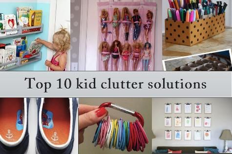 Mummy hacks: Organising kids' stuff: 10 quick solutions to help restore calm and order to children's spaces.