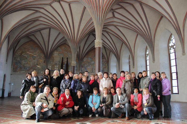 Crusader castle in Malbork
