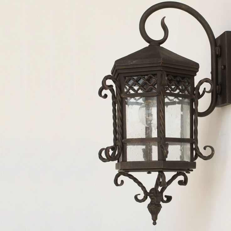 78 best mission architecture images on pinterest for Colonial style outdoor light fixtures
