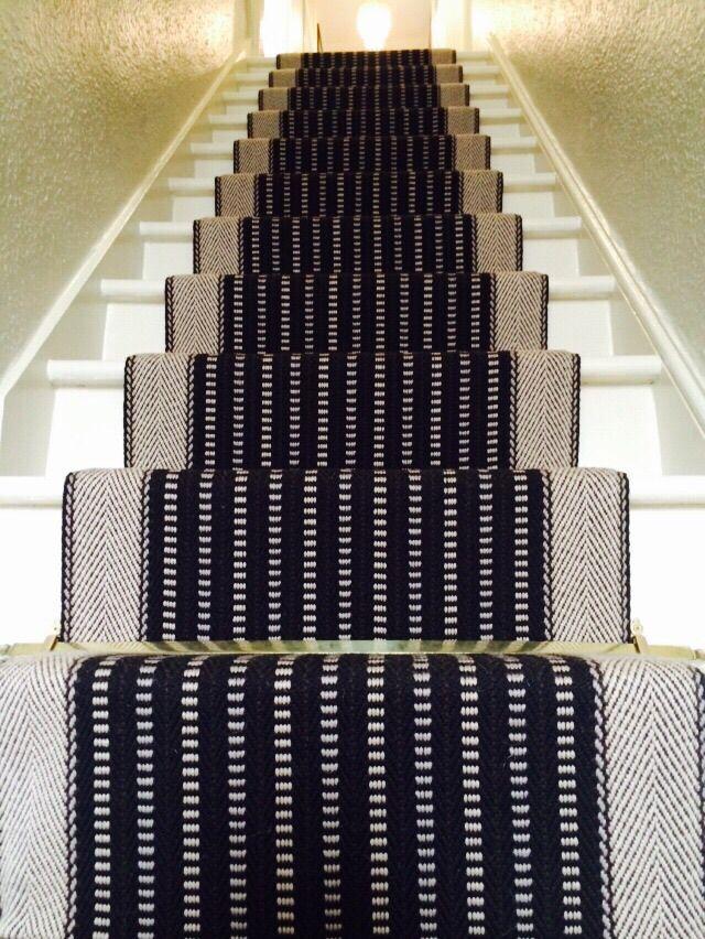 Roger Oates George Black Stair Runner #StairRunner #Flooring