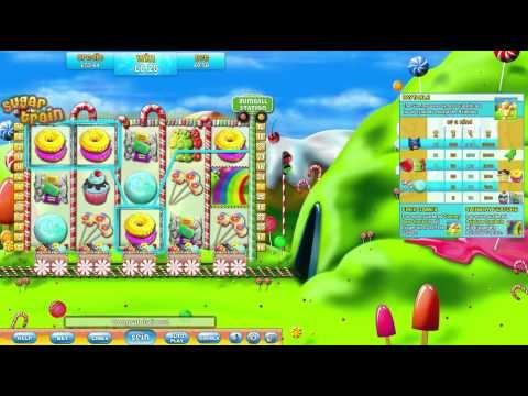 Play Sugar Train free slots at Gossip Bingo!