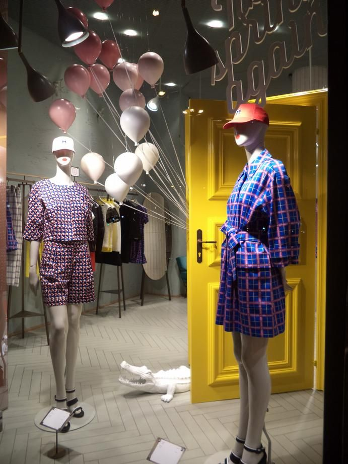 """MAX&CO,Milan,Italy, """"Its Spring..... Again"""", creative by StudioPepe, pinned by Ton van der Veer"""