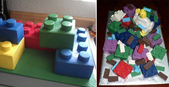lego cake idea
