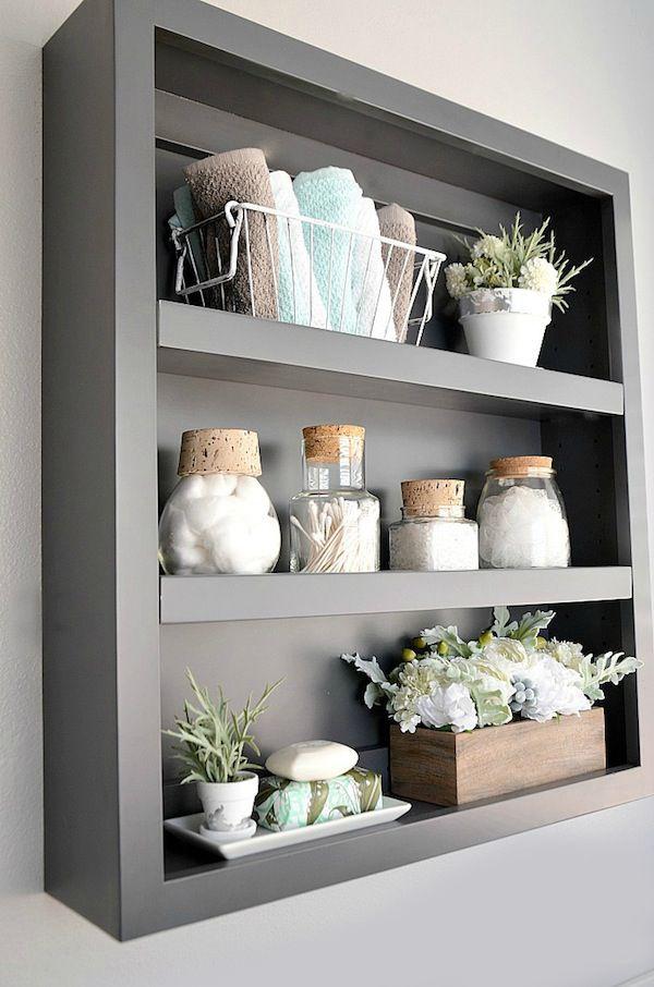 10 ideias para deixar seu banheiro mais organizado