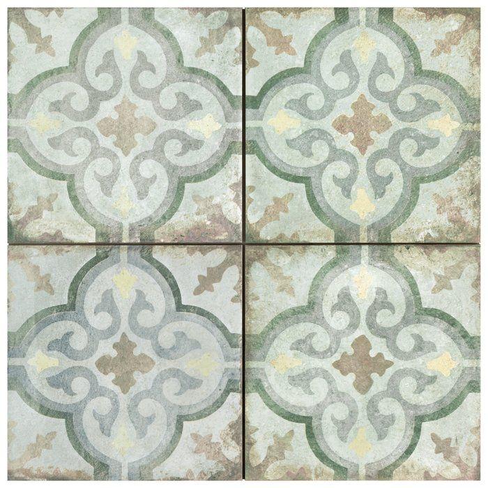 Relic Décor 9 X 9 Porcelain Wall Floor Field Tile Porcelain Flooring Wall Tiles Flooring