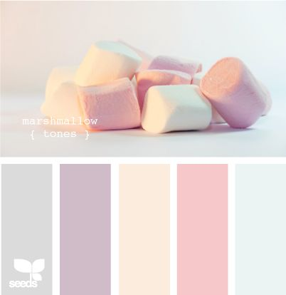 Pastels and Whites to enhance your Creativity and Childish side