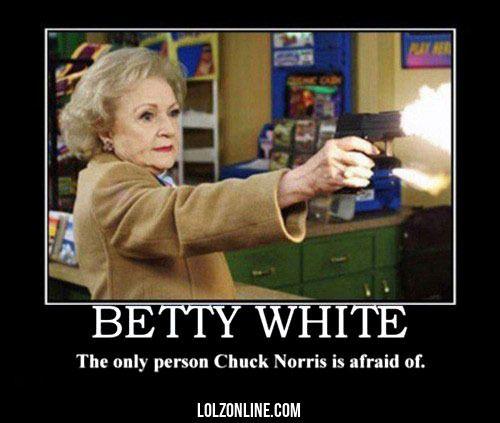 Coooooool.... Betty White is a really.cool grandma