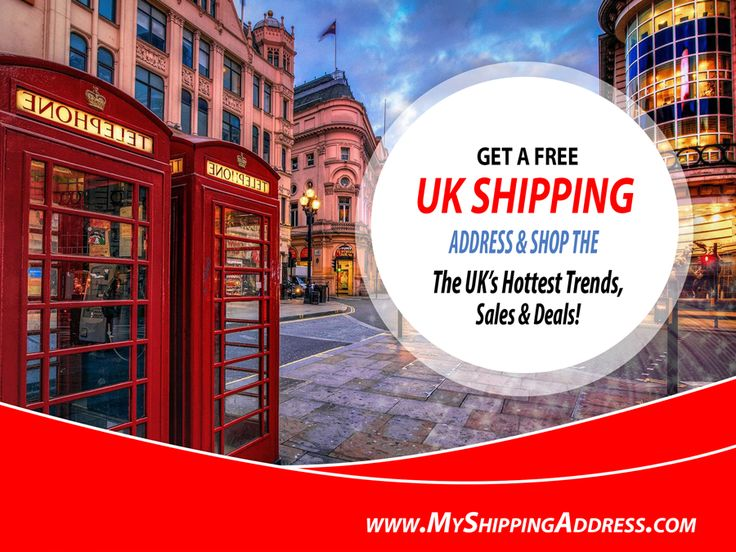 Register online at myshippingaddress.com Within minutes you will receive a confirmation email with your UK shipping addresses. Enter the address provided by MyShippingAddress.com in the online store's Shipping Address field at Check Out.