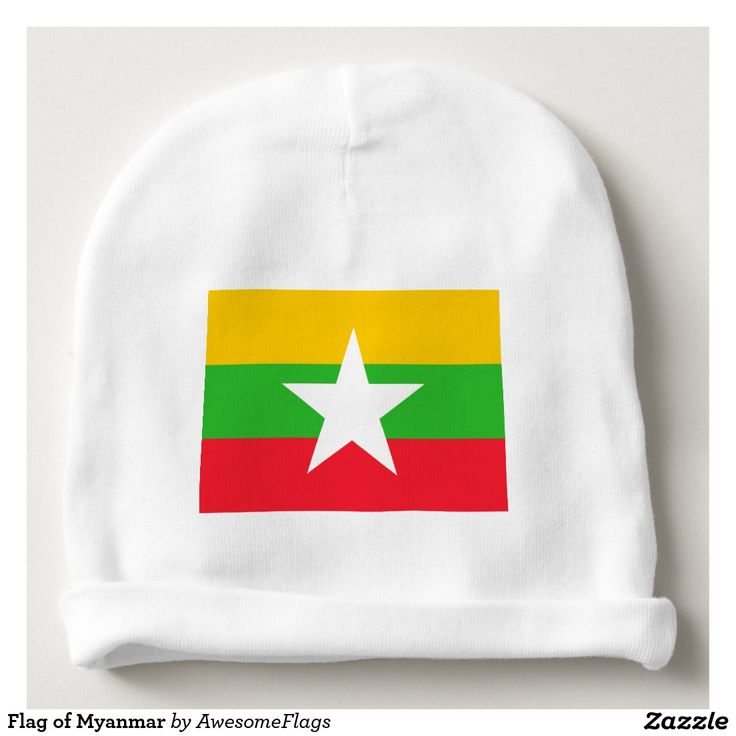 Flag of Myanmar Baby Beanie
