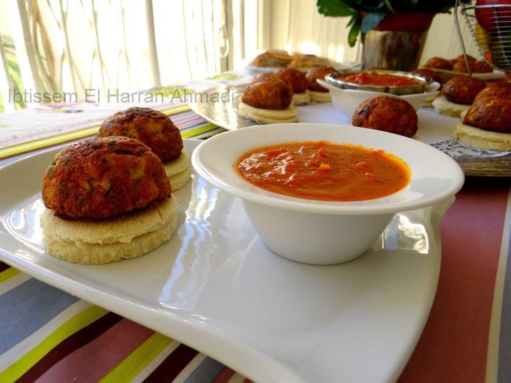 Mbatten brouklou sans viande au four revisit boulettes - Tastira cuisine tunisienne ...