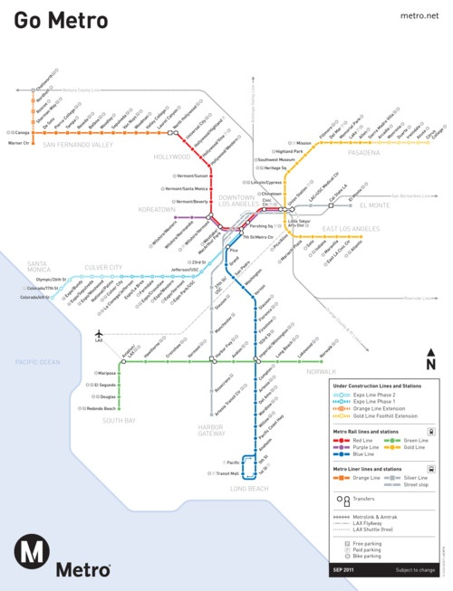 41 Best Images About Los Angeles Metro On Pinterest