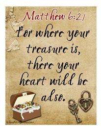 Pirate/Treasure Themes Bible Verse Signs