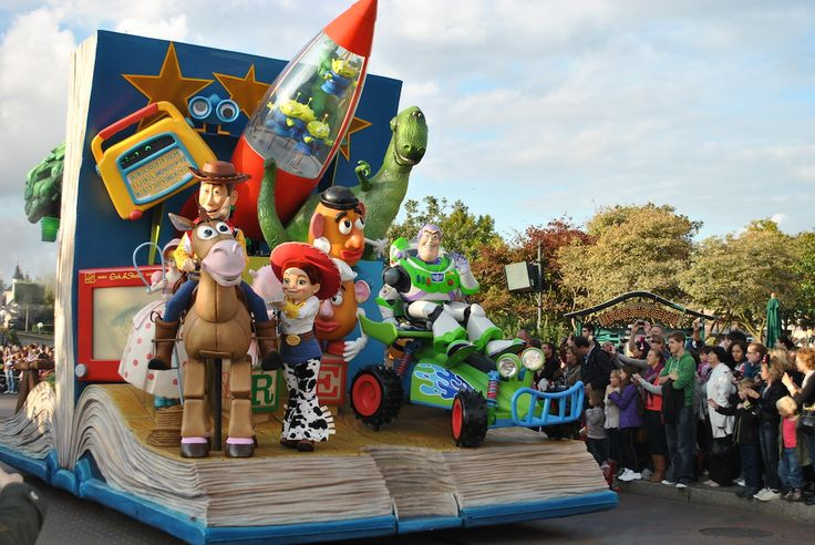 Disneyland Paris, parada