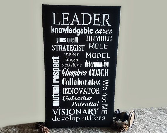 Gift for Boss Leadership Character Canvas Art by TimelessNotion