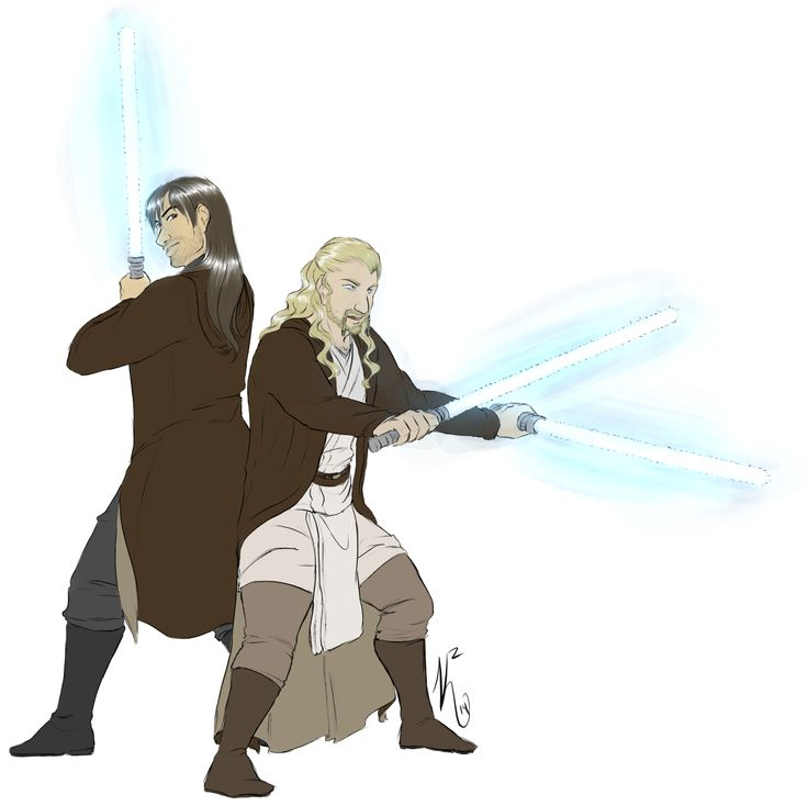 padblack:calamity-kitten:Yay for double-lightsabers!  I flipped past this and had to go back – Jedi Dwarves FTW!!!!