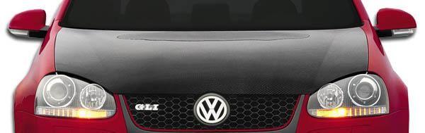 2005-2010 Volkswagen Jetta 2006-2009 Golf GTI Rabbit Carbon Creations OEM Hood - 1 Piece