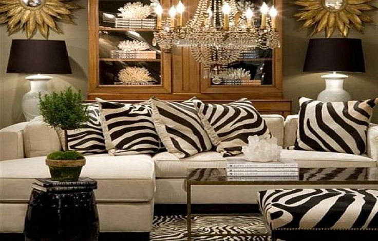 1000 ideas about replacement sofa cushions on pinterest for Brown zebra living room ideas
