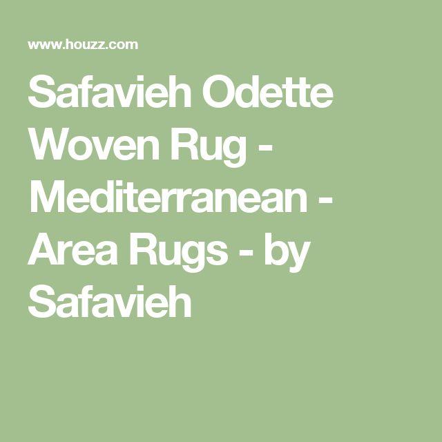 Safavieh Odette Woven Rug - Mediterranean - Area Rugs - by Safavieh