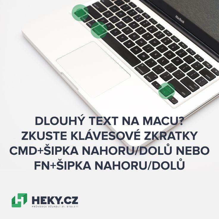 Tipy na klávesové zkratky