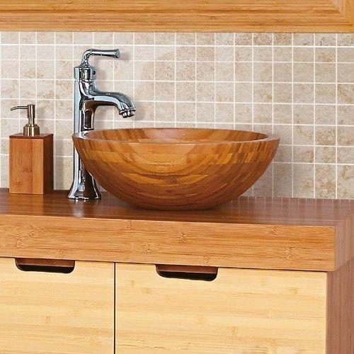 Ber ideen zu waschtisch massivholz auf pinterest for Badschrank rund
