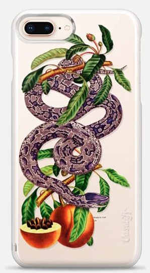 Snake iPhone 8 plus case by Fifikoussout on Casetify #snake #iPhone8 #iPhone8plus #iPhone8case #Fifikoussout  #Casetify