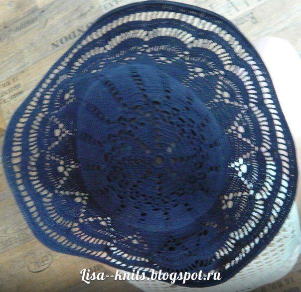 шляпа крючком, шляпка крючком, мастер класс как связать шляпу, летняя шляпка,регилин, мононить, схема шляпки крючком