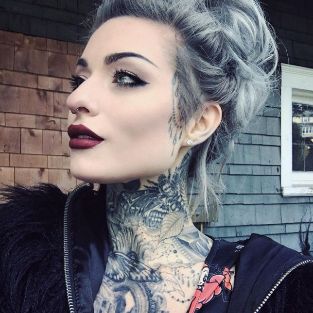664 best modifications rocking images on pinterest for Tattooed girl instagram