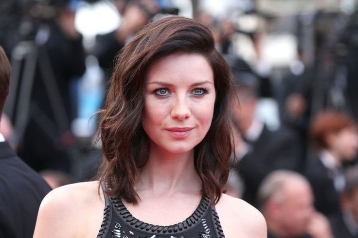 HQ Pictures of Caitriona Balfe at the premiere of 'Cafe Society' in Cannes