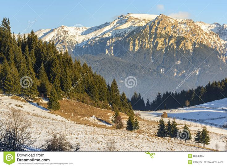Sunset Over Bucegi Mountains, Romania - Download From Over 56 Million High Quality Stock Photos, Images, Vectors. Sign up for FREE today. Image: 88843097