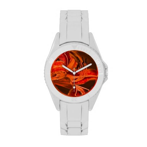 Orange Flower Watches