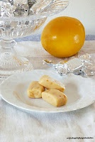 mijn dagelijkse gedachten: Honey Orange Cream Fudge/ Апельсиново-Медовые Конфеты Помадкa