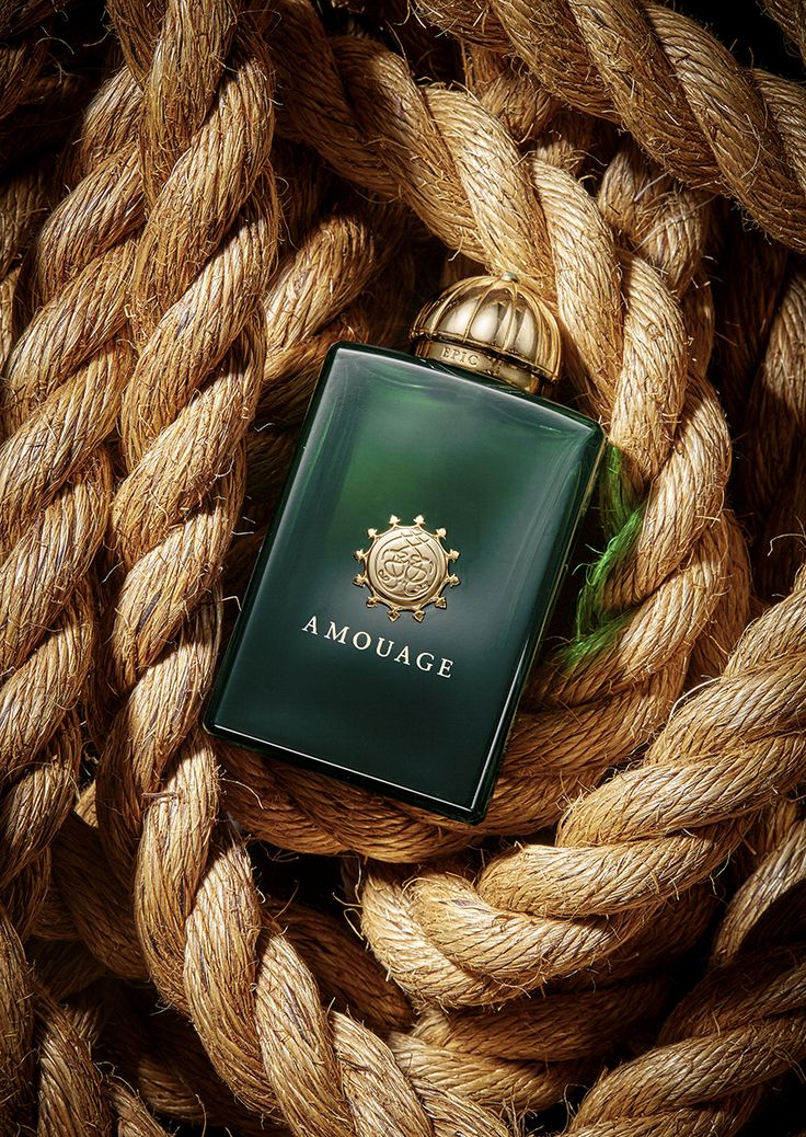 Amouage advertisement photography http://www.howlettphoto.com/portfolio/creative-product-photography-rope-amouage