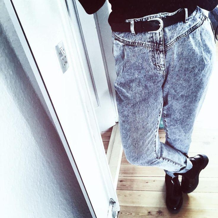 90 mom jeans Monki