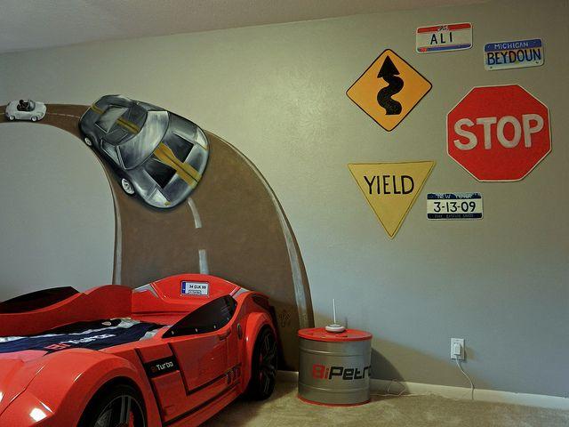 25+ Best Ideas About Race Car Bedroom On Pinterest