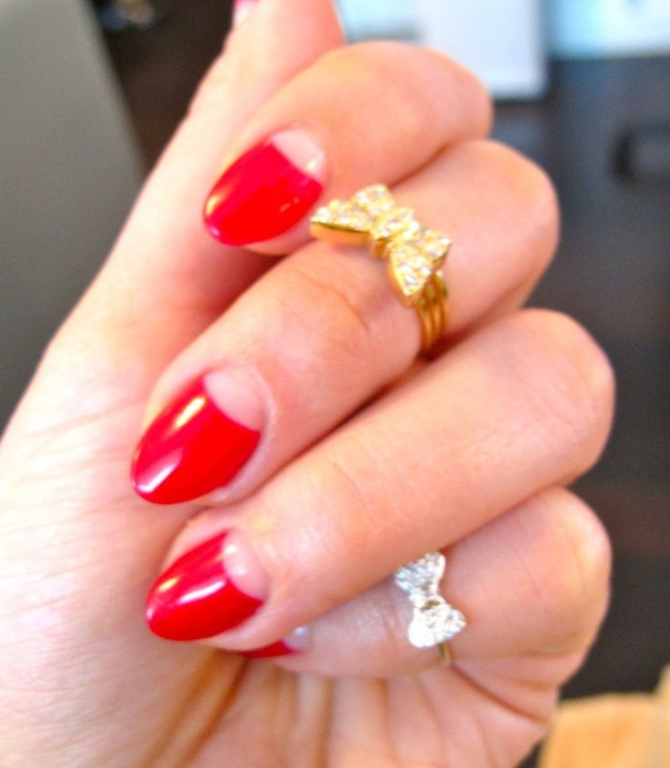 Red Nail Polish Lana Del Rey: 25+ Best Ideas About Almond Nails Red On Pinterest